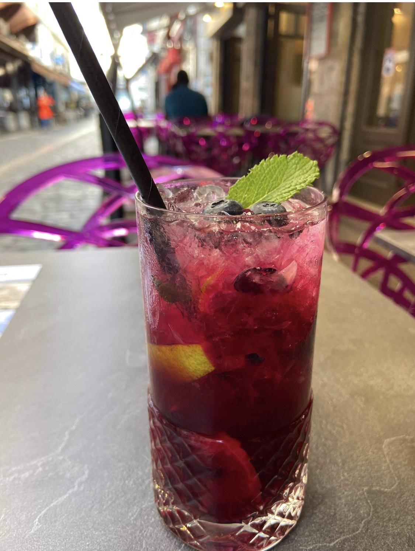 Photo du Cocktail du Mirtillo