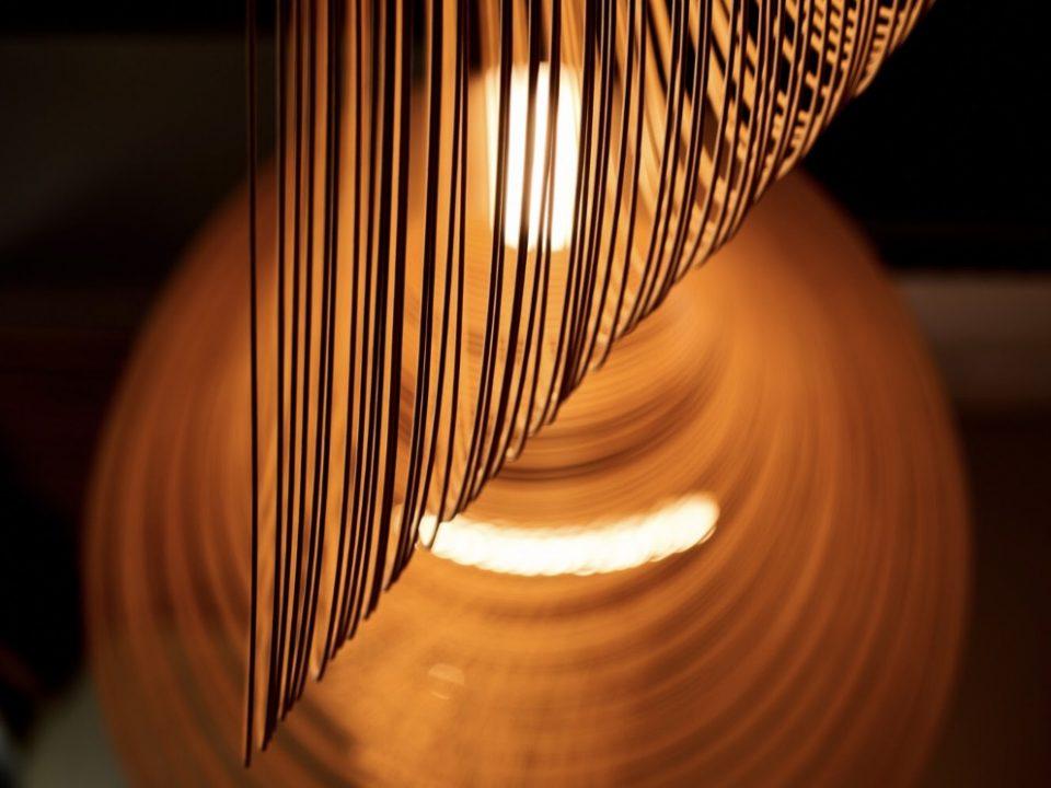 photo Luminaires élégants et aérien